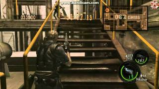Resident Evil 5 - The Mercenaries 4 Players Map Misile Area 886K Crazy Gameplay Crazy Players !