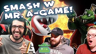 SMASH ULTIMATE with Mr. A Game! Super Smash Bros. Ultimate in The Basement