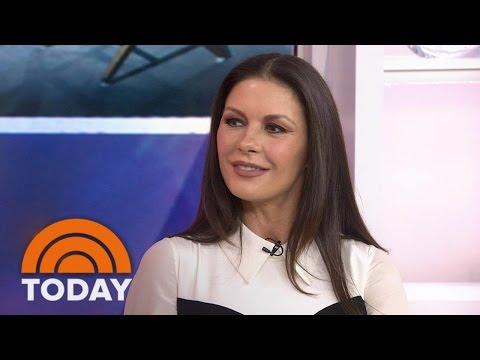 Catherine Zeta-Jones On Husband Michael Douglas, Their Kids And 'Feud'   TODAY