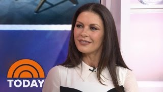 Catherine Zeta-Jones On Husband Michael Douglas, Their Kids And 'Feud' | TODAY