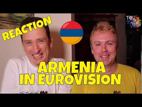 EUROVISION ARMENIA ALL SONGS REACTION