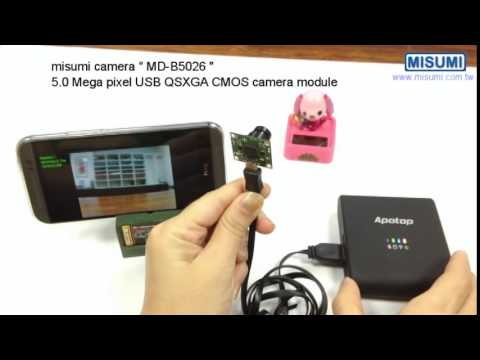 view video from uvc camera on android phone via wifi