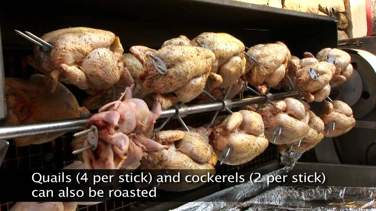 Rg Wood Fire Cooking Spit Roasted Chickens Youtube