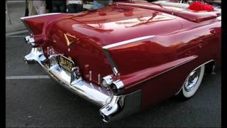 A classic 1955 Cadillac Eldorado convertible