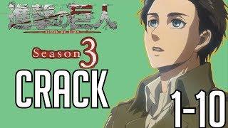 Attack on Titan Crack Season 3 Compilation #1