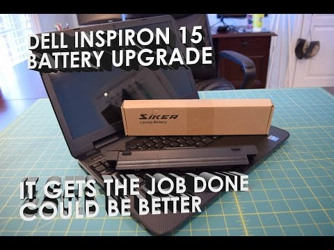 Dell Inspiron 15 3521 Battery Upgrade: Unboxing, Overview, Test (SKstyle / SIKER)