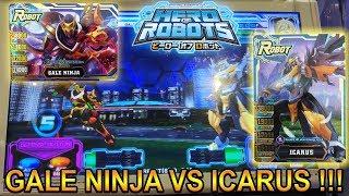 GALE NINJA VS ICARUS SIAPA LEBIH KUAT !!! - HERO OF ROBOTS INDONESIA #6