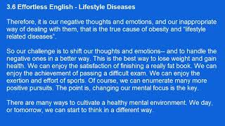 A.J.Hoge - 3.6 - Effortless English - Lifestyle Diseases