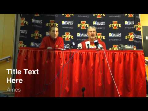 Jamie Pollard and Paul Rhoads News Conference on Liberty Bowl Selection