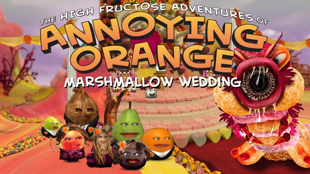 Annoying Orange Season 2 Episode 4 Marshmallow Wedding