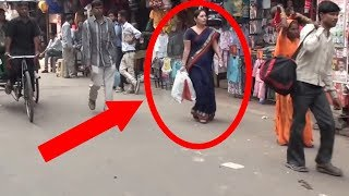 Real Ghost caught on Camera delhi street
