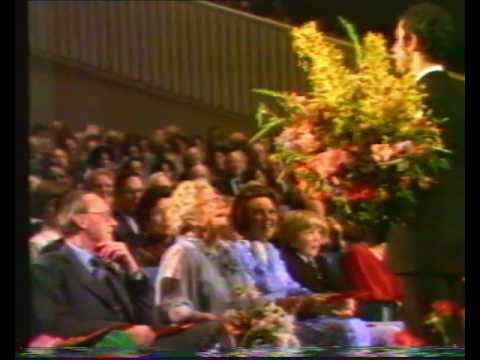 Jos brink en koningin Juliana 1979