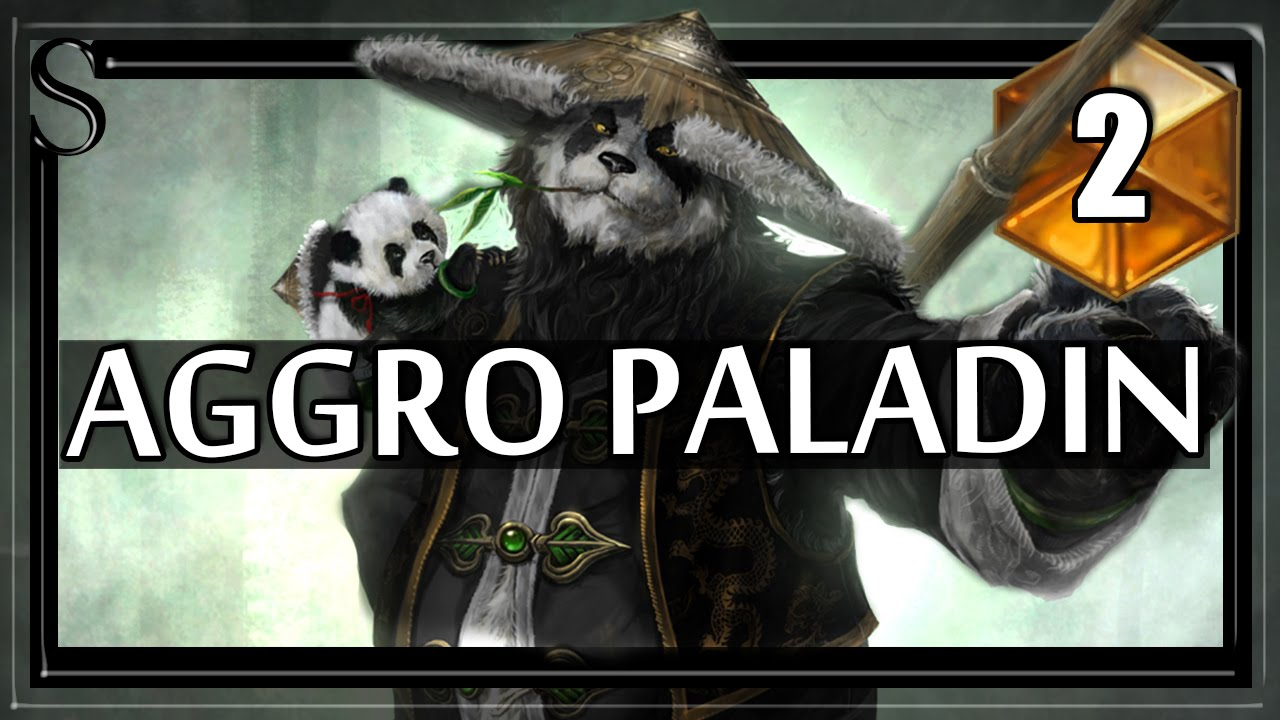 Смотреть Hearthstone Aggro Paladin - Now with real, intelligible subtitles