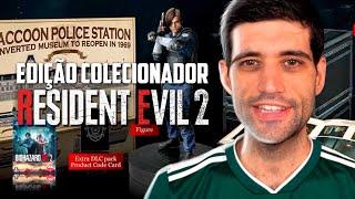 A incrível edição de colecionador de Resident Evil 2 Remake, unboxing