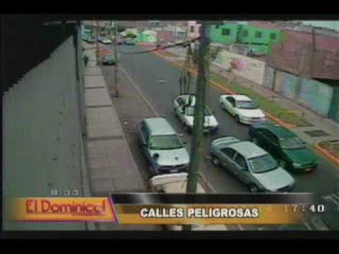 Violentos asaltos a mano armada y a plena luz del día en Lima