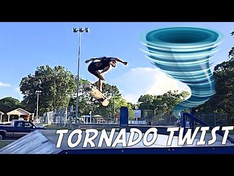 Jake Wright Invents A New Trick - Tornado Twist