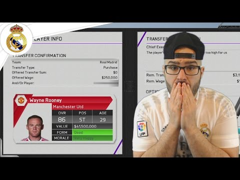 OMG POGBA & ROONEY TO REAL MADRID?! - Real Madrid Career Mode FIFA 16 #05