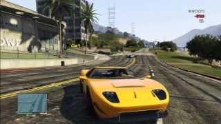 GTA 5 FORD GT FUN STUNT POLICE PURSUIT JUMP RAMP KILL EXPLOSION JUST AMAZING