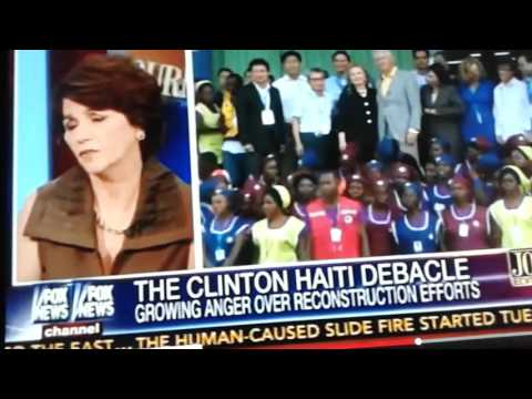 The disastrous reconstruction effort in #Haiti , performed by the #HillaryClinton and #BillClinton