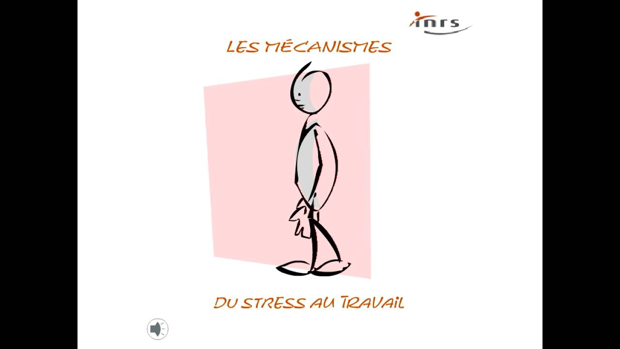 Les m canismes du stress au travail youtube for Stress travail