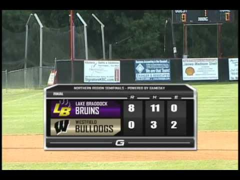 LAKE BRADDOCK 8 - WESTFIELD 0 (POST GAME HIGHLIGHTS)