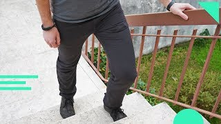 Great Pants for Travel | Outlier Slim Dungarees Review