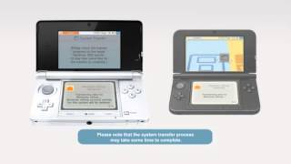Transfer between Nintendo 3DS systems (including Nintendo 3DS XL)