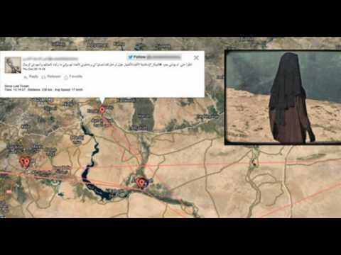 Female Jihadist Geo-Tracked from Canada to ISIS Frontline In Syria