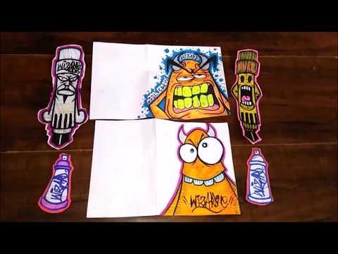 Ozeeloc's graffiti slaps - street art | graffiti stickers