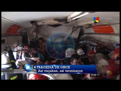 """Video inédito sobre """"La tragedia de Once"""" en """"La cornisa"""" de L.Majul - 20/09/15"""