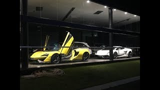 McLaren 570s Spider & Lamborghini Gallardo LP570-4 Superleggera