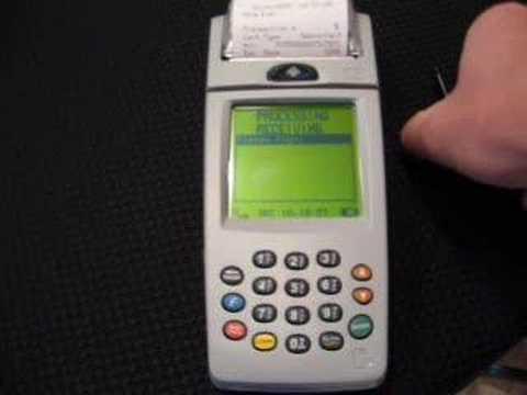 Free Verifone Nurit 8000 GPRS Wireless Credit Card Terminal
