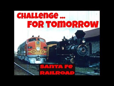 "VINTAGE SANTA FE RAILROAD SAFETY FILM ""Challenge for Tomorrow"" 71002"
