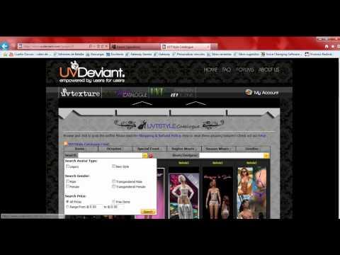 Tutoriales Utherverse: Cómo conseguir ropa gratis???