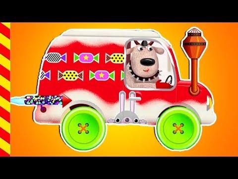 Мультики про машинки для малышей. Строим машинки. Мультфильм Автомастерская чиним машины  детям.