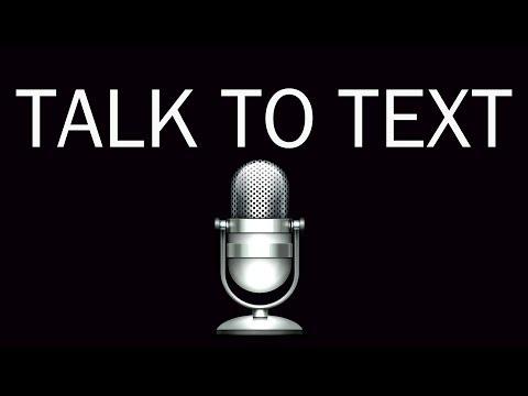 Talk To Text