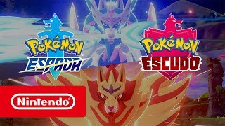 Pokémon Espada y Pokémon Escudo – Tráiler general (Nintendo Switch)