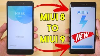 Easy guide to Update from MIUI 8 to MIUI 9 without DATA loss!