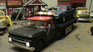 65 CHEVY PICK UP FLAT BED WRECKER 1/25 SCALE