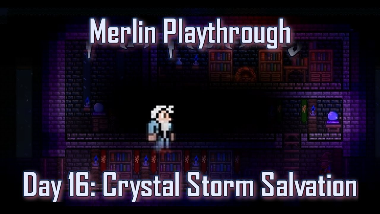 how to make crystal storm in terraria