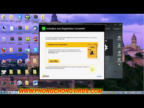Hướng dẫn cài đặt phần mềm Norton Internet Security 2013