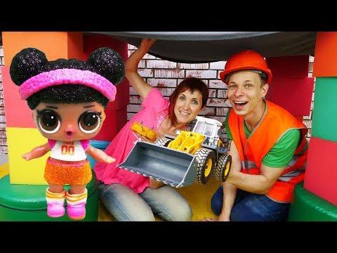 Кафе на Дереве - Куклы Лол - Видео для девочек с Плей До.