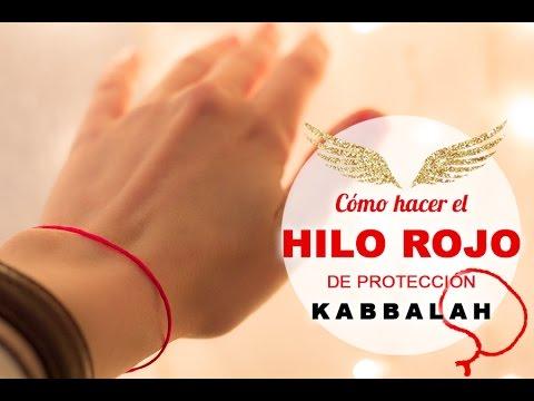 ⭕CÓMO HACER EL HILO ROJO DE PROTECCIÓN🔮🌿🌙 DE LA KABBALAH