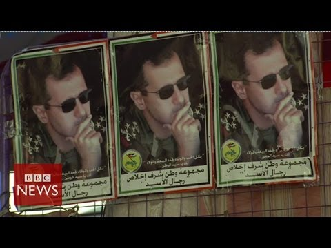 Syria election: BBC reports from Assad heartland - BBC News