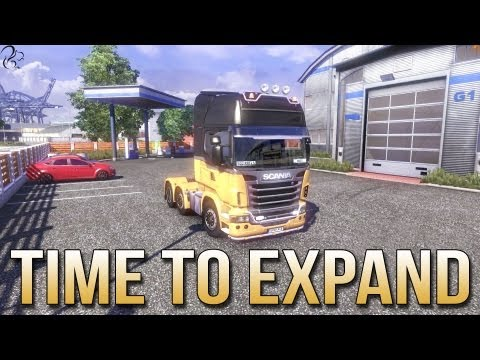 Time to Expand - Euro Truck Simulator 2 - ETS2 inc Track IR