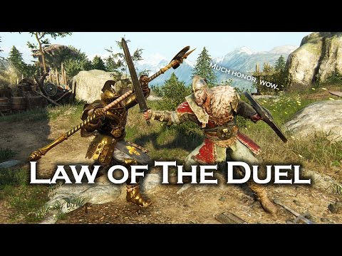 For Honor - Law of the Duel