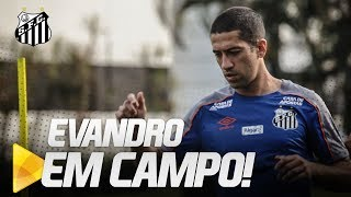 COM EVANDRO EM CAMPO, SANTOS SEGUE COM TREINOS NO CT | DE OLHO NO TREINO (02/07/19)
