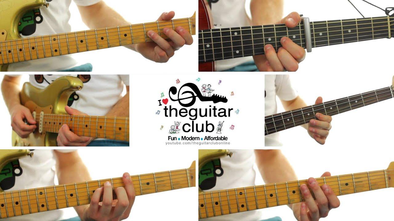 Rude - Magic (Guitar Cover u0026 Lesson) - YouTube