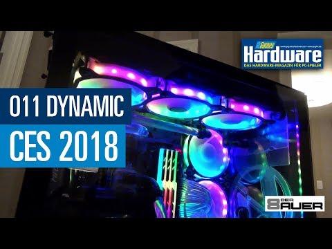 "Lian Li ""O11 Dynamic"" von Roman ""der8auer"" Hartung vorgestellt   PCGH @ CES2018"