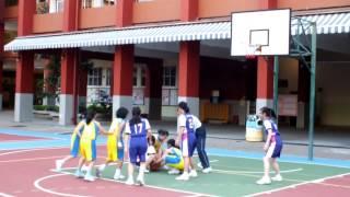 2012-13 藍田循道衛理小學男女子籃球隊友誼賽第三場